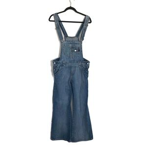 Levi's Denim Overalls With Wide Legs